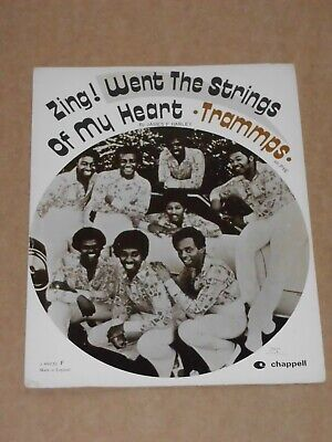 """Trammps """"Zing! Went The Strings Of My Heart"""" sheet music"""