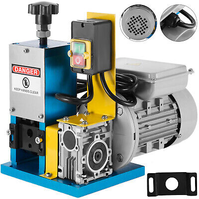 220V Powered Electric Wire Stripping Machine Scrap 55-60 feet/Min Cable Stripper