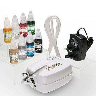 Airbrush Cake Decorating Kit | Watson & Webb Little LA1 Including 8...