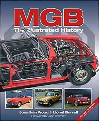 Mgb The Illustrated History Mgb Mgc Gt V8 MG Rv8 Livre