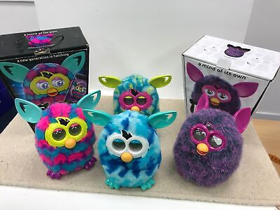 Collection Of 4 Furbys Various Interactive Working Including Furby Boom #605