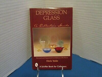 Depression Glass A Collector's Guide w/ Price Guide Brand New