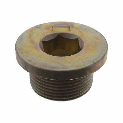 Febi Oil Drain Plug Without Seal Ring Setra Serie 4Serie 400 Mercedes Benz 06630
