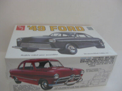 Amt Kit 1949 Ford 2 Door Coupe Release In 2008  F/sealed 1/25 Scale 1 Of 2 Ways