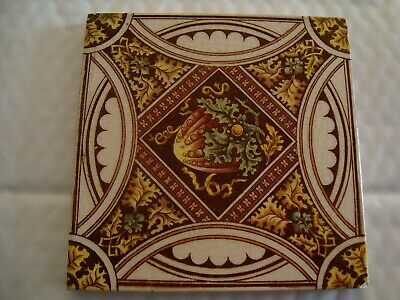 Charming Victorian Floral tile 19/91