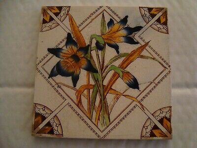 Antique Aesthetic style Daffodil Tile 19/80