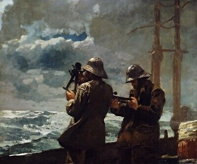 Eight Bells Painting by Winslow Homer Art Reproduction