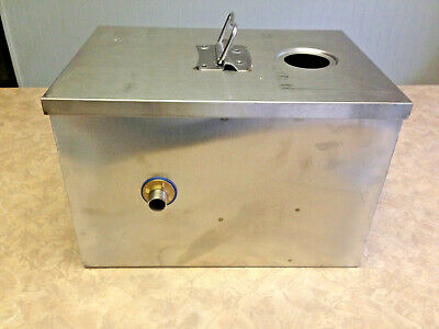 Commercial 8LB 5GPM Grease Trap Stainless Steel Interceptor Filter Kit