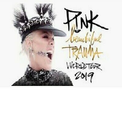 Pink GOLD CIRCLE RDS DUBLIN Tickets x 2 Standing - 18th JUNE 2019