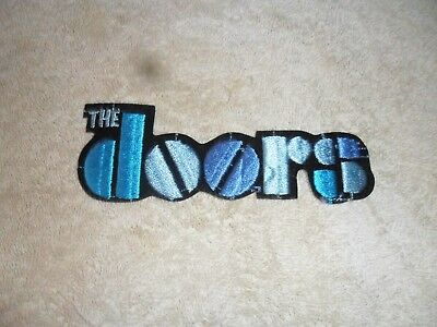 Iron On Patch   The Doors  Vintage  1988