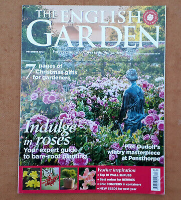 THE ENGLISH GARDEN - Dec 2018 - Piet Oudolf (Pensthorpe) - Drummond Castle - etc