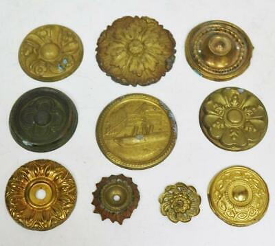 Selection Of Rare Antique 17thC-Early 18thC Brass Bracket Clock Fillet Inserts