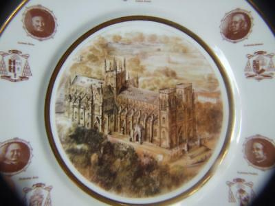 St. Mary's Cathedral Centenary Plate 1882-1982 by BENZ CERAMICS AUSTRALIA