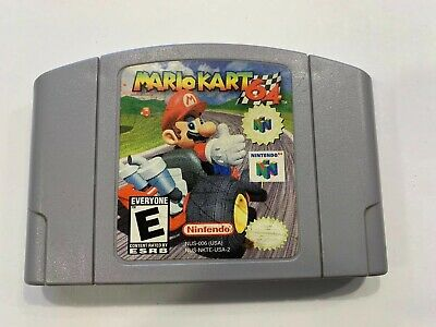 Mario Kart 64 Video Game Cartridge For Nintendo  System N64 Console US Version