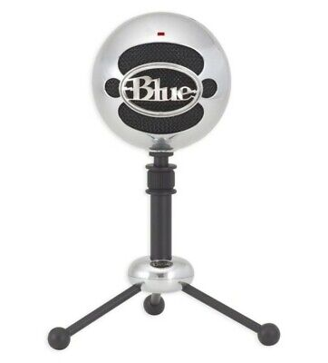 Blue Microphones Snowball USB Microphone in Aluminum with Tripod