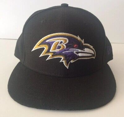 low priced ec12f 737aa Baltimore Ravens New Era 59Fifty Fitted Cap Hat Sz 7 3 8 NFL Football