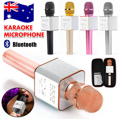 Wireless Microphone Speaker Bluetooth 4.0 KTV Karaoke Q9 iPhone Samsung Android!