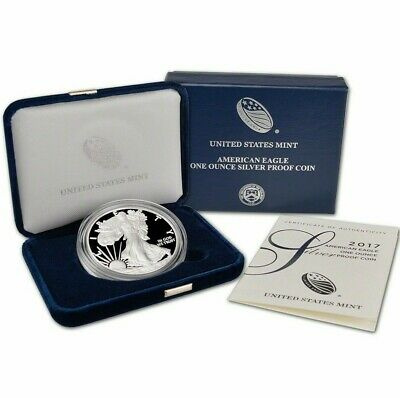 2017 U.S. Mint American Eagle 1oz Silver Proof Coin