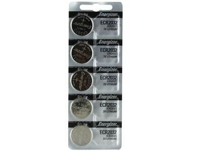 Energizer Cr2032 (5 Piece) Watch Batteries 3V Lithium Cr 2032 Dl2032 Br2032