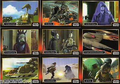 Star Wars Episode 1 - Complete Card Set (60) - IKON Australia 1997 - NM