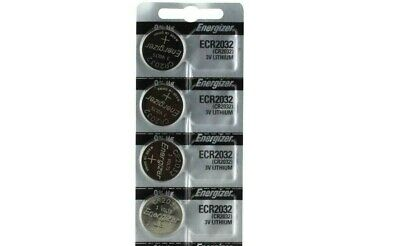 Energizer Cr2032 (4 Piece) Watch Batteries 3V Lithium Cr 2032 Dl2032 Br2032