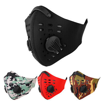 Anti Dust Pollution Dustproof Filter Half Face Mask for Outdoor Cycling