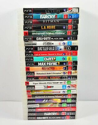 Playstation 3 Games Choose Your Own $7.50 Each Free Post   Good condioins