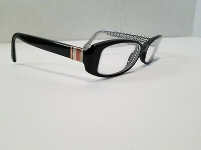 ad813c8b576c Rare Coach Hc 6083 Black With White Coach Logo Int Authentic Eyeglasses  W case