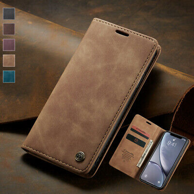 Magnetic Wallet Case Leather Flip Cover for Apple iPhone XS Max XR 6S 7 8 Plus X