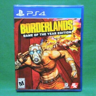 Borderlands Game of the Year Edition + All DLC (PS4 2019) 4K Phyiscal Edition