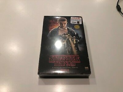 New Stranger Things Season 1 Blu Ray Dvd Target Exclusive Vhs + Poster New