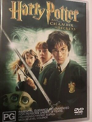 Harry Potter And The Chamber Of Secrets (DVD, 2-Disc Set), R4, Fast Post, New!