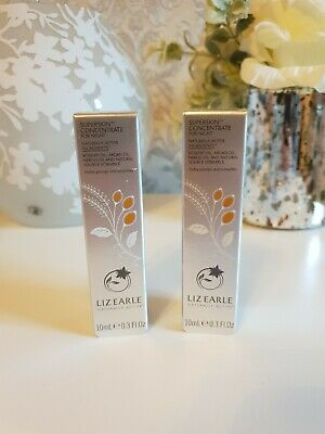 2x Liz Earle Superskin Concentrate For Night Facial Oil 10ml. Brand new