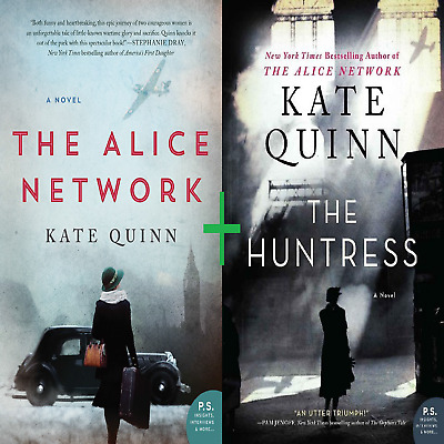 The Alice Network by Kate Quinn + The Huntress by Kate Quinn (Bonus!) PDF KINDLE