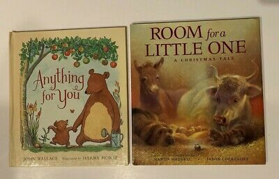 Room for A Little One Christmas Tale Children's Book Anything for You Hardcover
