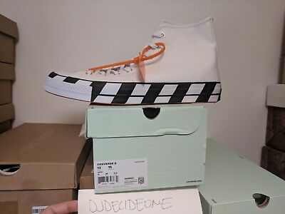 CONVERSE CHUCK TAYLOR All Star 70s Hi Off White Virgil Abloh