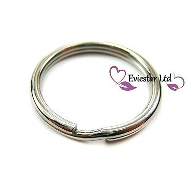 20mm Key Rings 304 Stainless Steel Round Split Rings NAP8