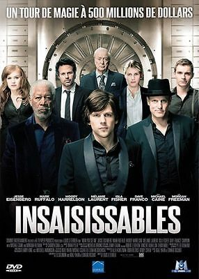 DVD insaisissables magie freeman michael caine  ZAZA2CATS