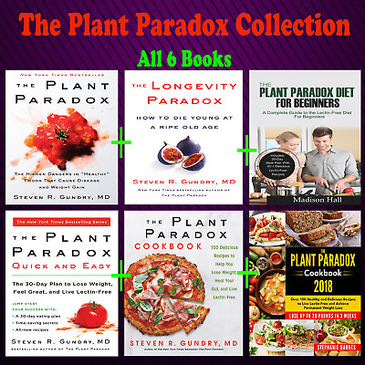 🍴The Plant Paradox Cookbook: 100 Delicious Recipes by Steven Gundry PDF KINDLE