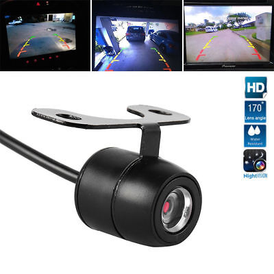 170° Reverse Car Rear View Parking Camera IR Night Vision Waterproof W/6M Cable