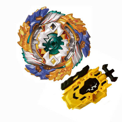 Beyblade Burst Fight Geist Fafnir.8`.Ab  Booster B-122 With L-R String Launcher
