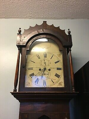 antique grandfather clock  (COLLECTION ONLY)