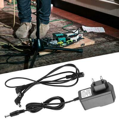 9V Guitar Effect Pedal Power Supply 3 way Daisy Chain Cable Cord EU Adapter Set