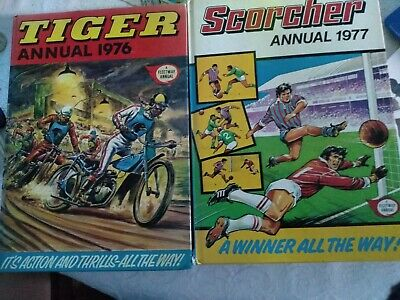 TIGER AND SCORCHER  Annuals 1976 77
