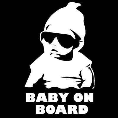 Baby On Board Child Window Bumper Car Sign Decal Sticker VW T5 T4 Funny