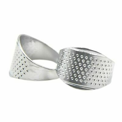 Ring Thimble Silver Metal Finger Protector 5pcs/set Household Sewing Safety Tool