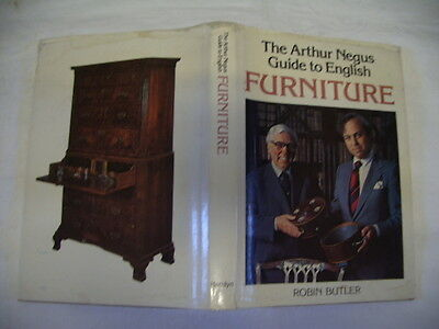 Arthur Negus Guide To English Furniture, Robin Butler, Hamlyn 1St Edition 1978