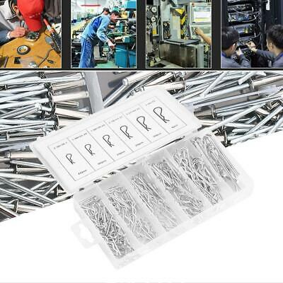 150 Pcs Carbon High Strength Steel R-type Wave Card Hairpin Cotter Pin