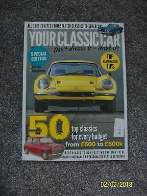 Your Classic Car Don't Dream It Drive It Issue 1 Top Tips New Bookazine