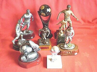 Job Lot Of Football Trophies Pre-Owned See Listing For Details